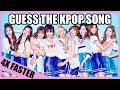 GUESS THE KPOP SONG 4X FASTER