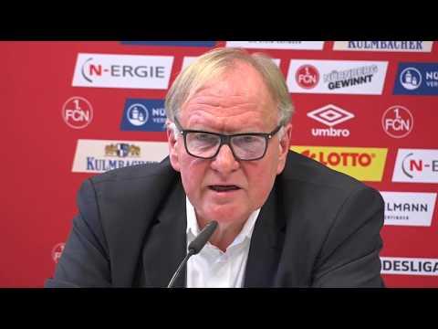 Pressefragen an Dr. Thomas Grethlein nach dem Trainer-Rauswurf
