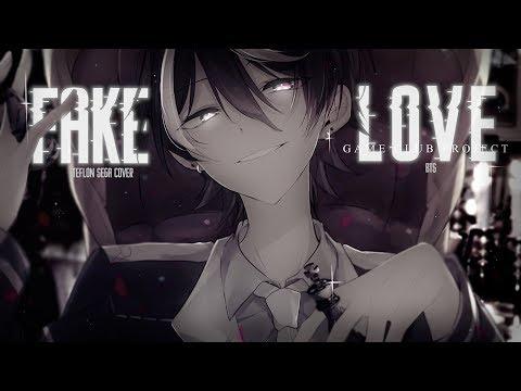 Nightcore ↬ Fake Love [NV | Teflon Sega]