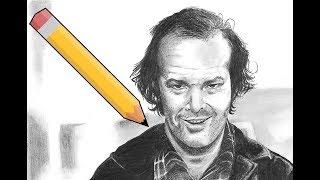Drawing Jack Nicholson,  The Shining