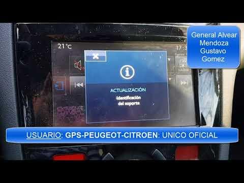 Actualizacion GPS Peugeot Citroen - versión V110