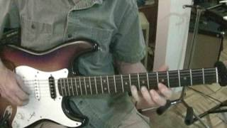 Crossroads guitar solo - slow