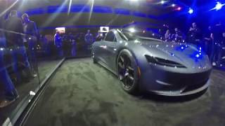 Tesla next-gen Roadster test ride and event