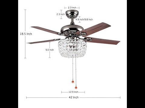luxurefan-retro-crystal-ceiling-fan-light-with-elegant-crystal-cover-and-5-premium-metal-leaves
