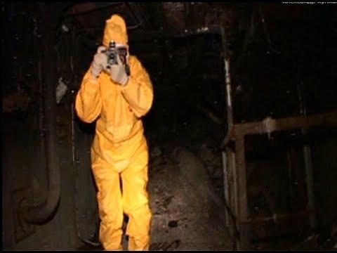 """Чернобыльская АЭС. """"Слоновья нога"""" в 2007 году"""