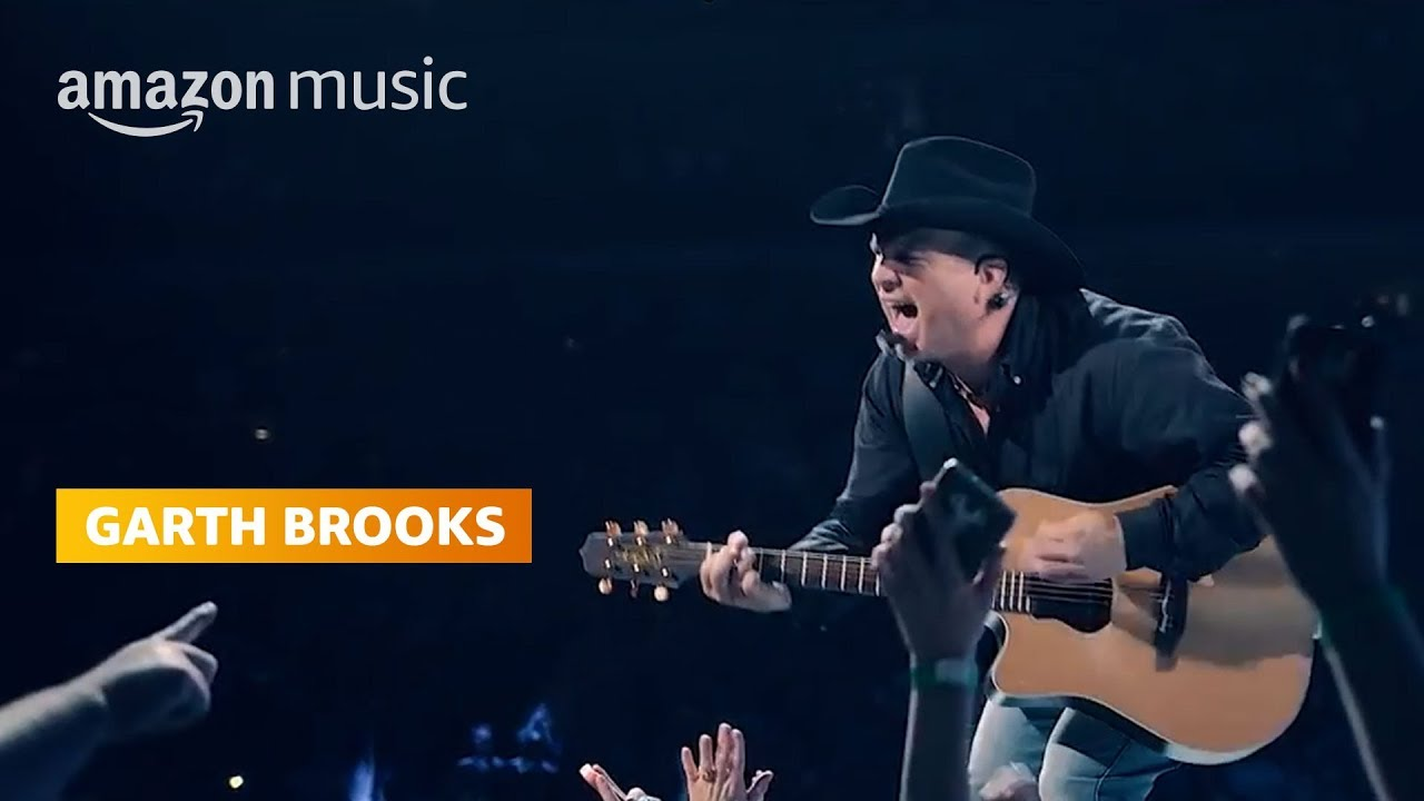 Garth Brooks, Amazon Music give away album downloads