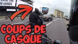 3 ROAD RAGE FRANÇAIS #30   COUPS DE CASQUE, CYCLISTE EN COLÈRE ET PRIORITÉ !!