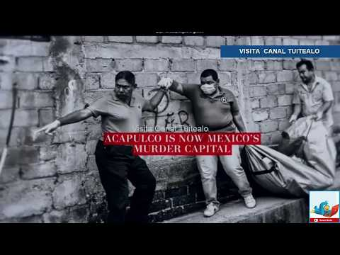 The Washington Post publica que Acapulco es la capital de los homicidios Video
