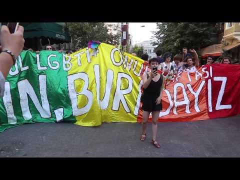 15. İstanbul LGBTİ+ Onur Yürüyüşü Basın Açıklaması