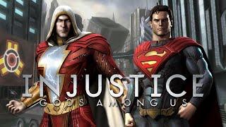 Injustice GAU: Shazam VS Superman (Duels)