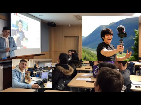 Shaha Dolimov Va Nmaga Aynan You Tube ? Inha University (Korea) Presentation Day !