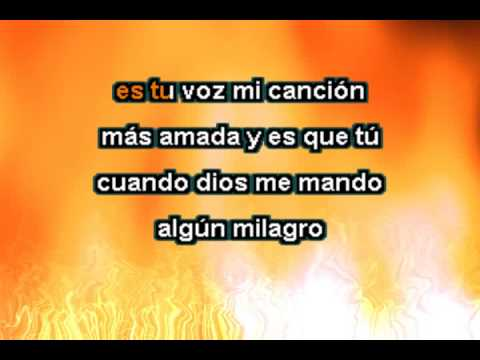 Divina tu - Karaoke Carlos Macias  -3