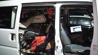 【生放送】新門司港→久留米 車に積み込んだバイク家に持って帰るまでかえれまてん thumbnail