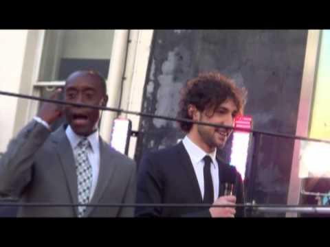 DON CHEADLE talks solo War Machine movie! @ Iron Man 3 premiere, london
