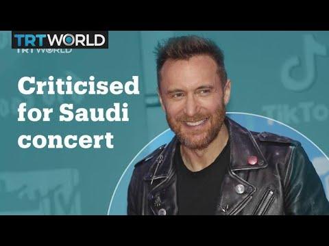 Not everyone is amused by David Guetta's concert in Saudi Arabia Mp3