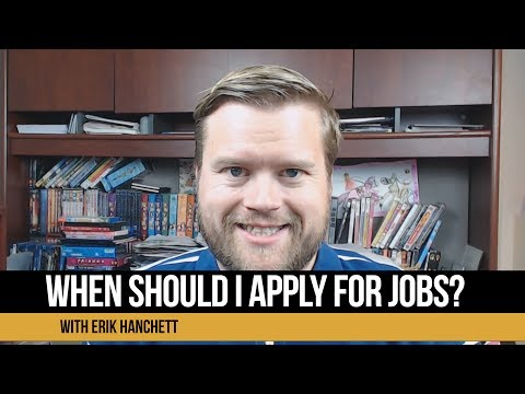 When Should You Start Applying For Jobs As A Web Developer?