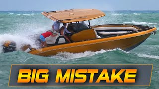 BIG MISTAKE IN A CHOPPY DAY/Haulover Inlet YouTube Videos