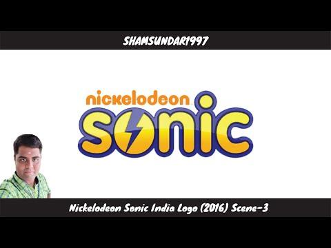 Nickelodeon Sonic India Logo (2016) Scene-3