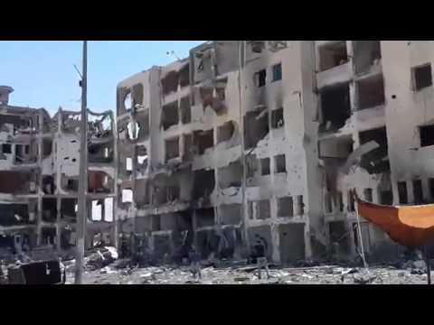 GAZA - Horrible Images from Gaza Strip Destruction