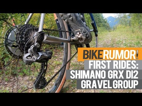 First Rides! Shimano GRX Di2 gravel group grinds for days in Montana's mountains