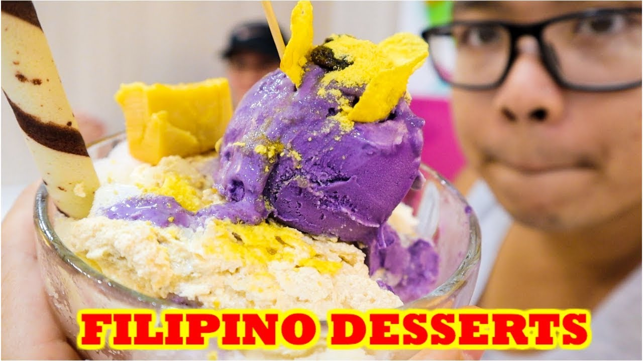 Must Try FILIPINO DESSERT Tour in CEBU City   Malls & Halo Halo