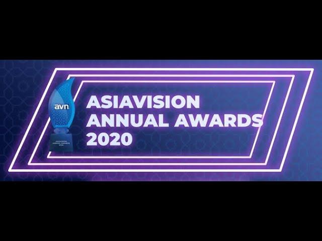 ASIAVISION ANNUAL AWARDS 2020