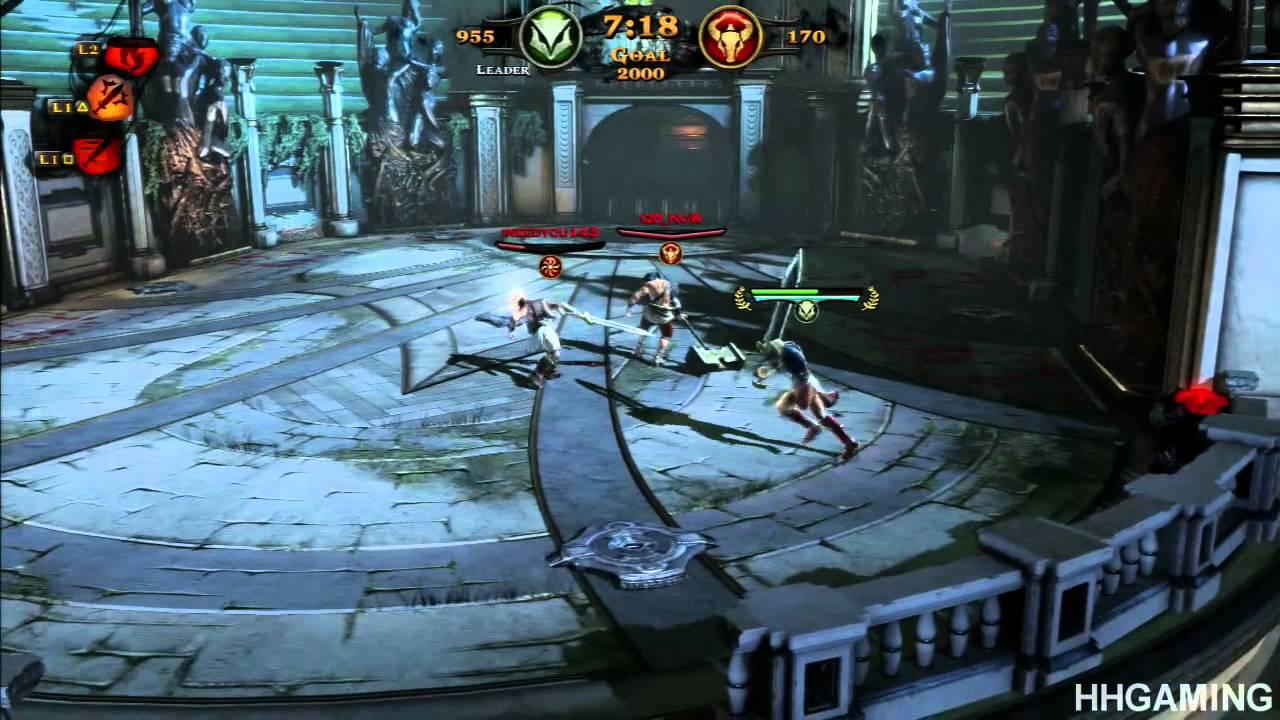 God of war ascension multiplayer gameplay 1 free for all arena god of war ascension multiplayer gameplay 1 free for all arena deathmatch ps3 hd youtube voltagebd Gallery