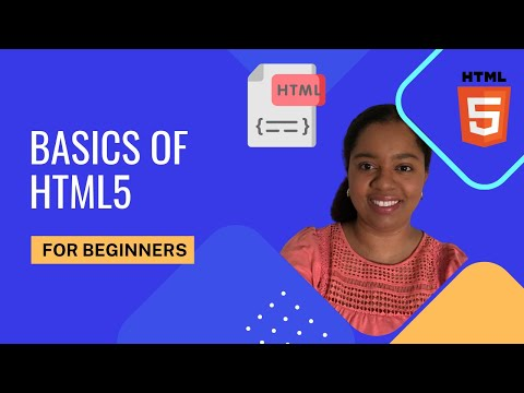 HTML5 Semantic Markup Tags & Layout -  2018 HTML Tutorial For Beginners