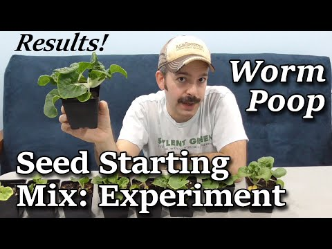 Sustainable Worm Casting Seed Starting Mix -Indoor Garden Experiment CONCLUSION
