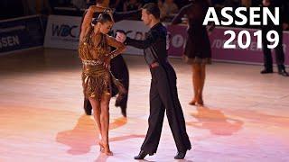 Dorin Frecautanu & Marina Sergeeva (MDA) | Assen 2019 | Professional Latin - R2 Samba