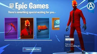 "NEW ""INFERNO"" SKIN PACK! // 2000+ Wins // Use Code: byArteer (Fortnite Battle Royale LIVE)"