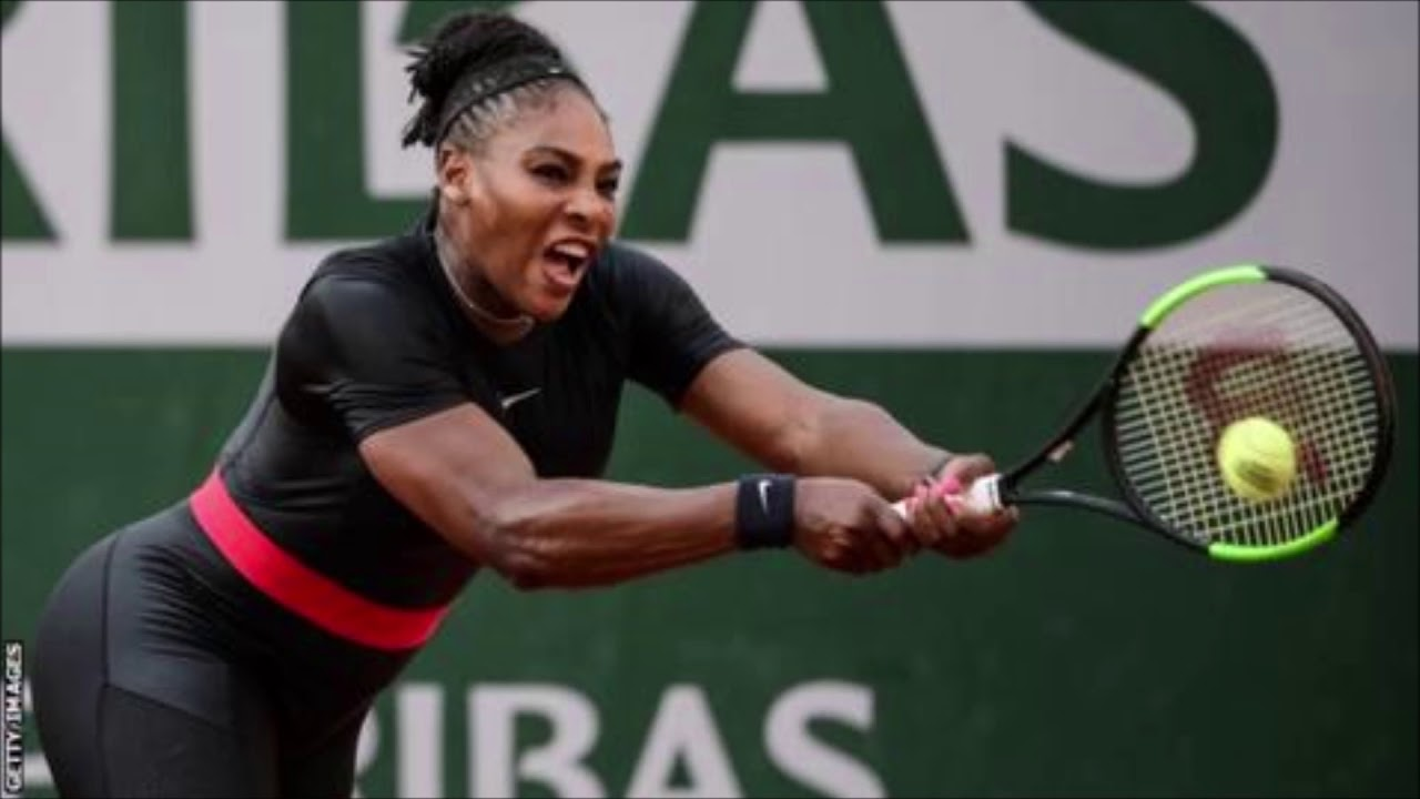 After Backlash French Open May Reconsider Ban On Serena Williams' Catsuit