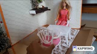 Miniatures #MiniatureGarden #MiniatureSunRoom #Dollhouse Note the b...