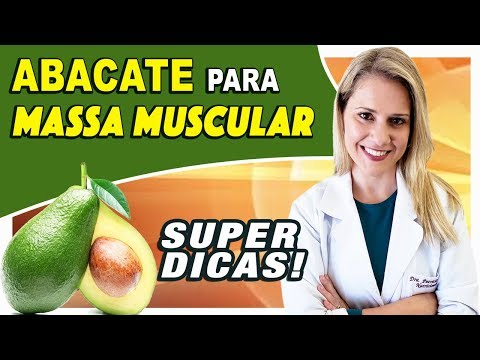 Abacate para Massa Muscular - Por que? Como? Quanto? [DICAS]