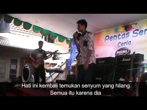 The Banned Genk - Anji Dia Rock Cover Plus Lirik by Jeje