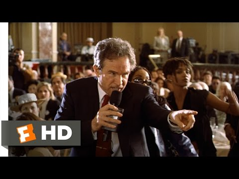 Bulworth (2/5) Movie CLIP - Bulworth Raps (1998) HD