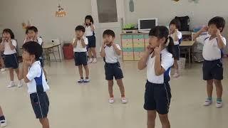 英語教室(5歳児クラス)2020年8/6 ①