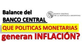 El Banco Central puede ser el causante dela INFLACION