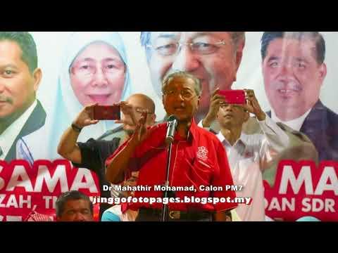 20180409 Dr Mahathir @ Ceramah Temerloh