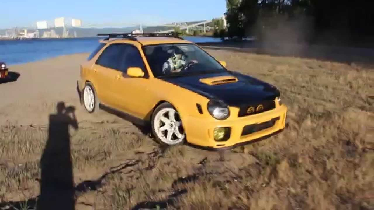 2003 subaru impreza wrx sonic yellow wagon youtube vanachro Gallery