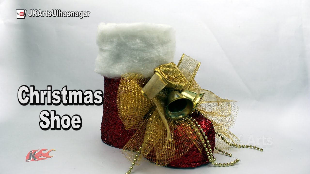 How to make Christmas Santa Boots Out