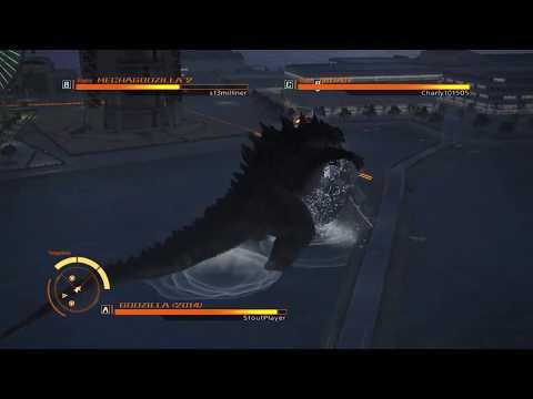 GODZILLA PS4 : Godzilla 2014 vs MechaGodzilla 75 and Gigan