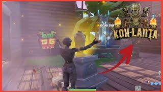 [ CODICE ] I PARTICIPE A KOH-LANTA ON FORTNITE!!