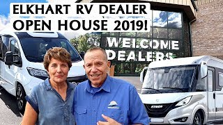 Wining and dining brings $2 Billion in business at Elkhart RV Dealer Open House 2019