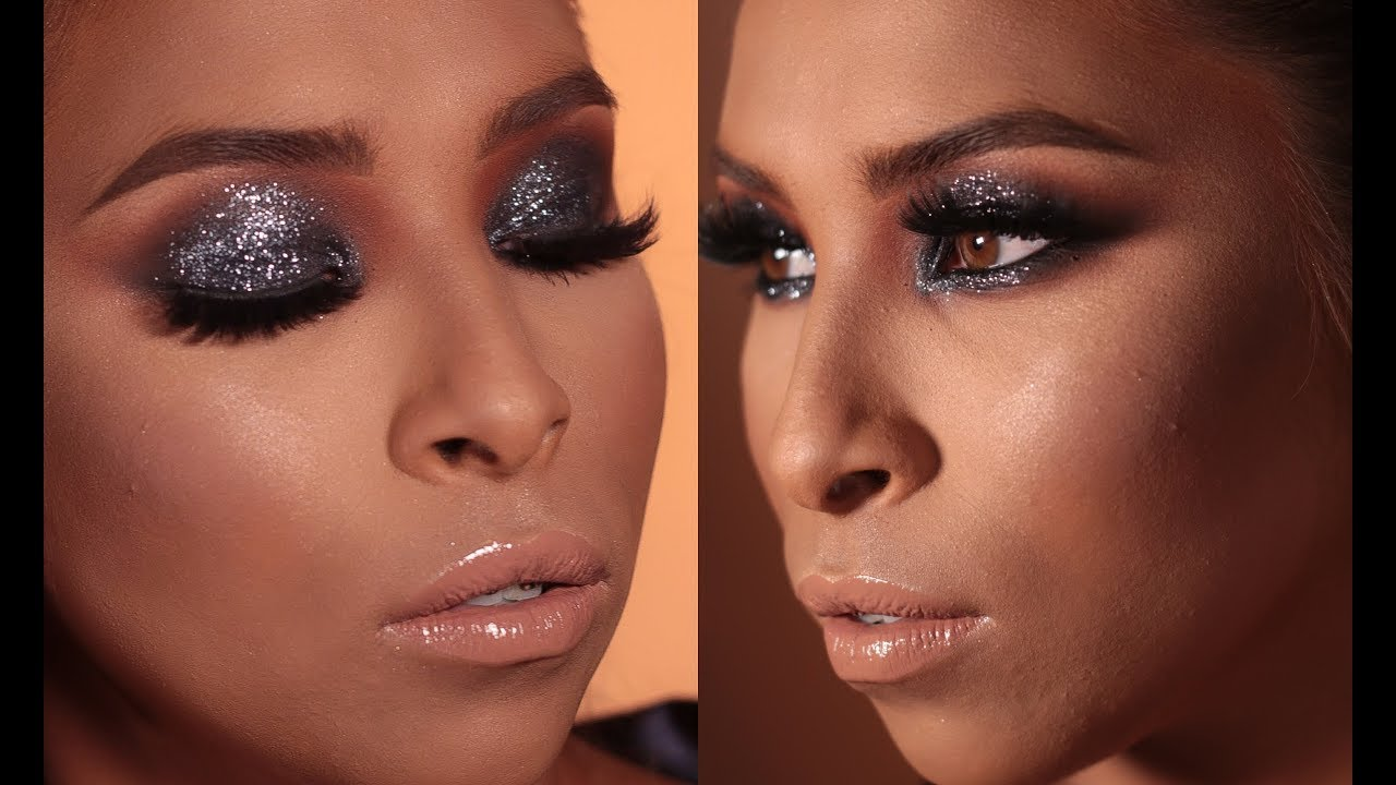 Smokey Glam Gliterinado