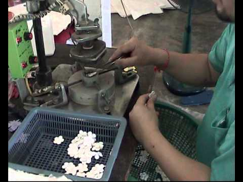 yayeeflowers, mulberry paper flowers,how to make a petal with hot pressing.