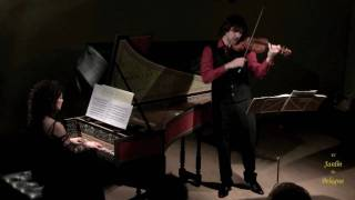 Arcangelo Corelli. Violin Sonata op 5 no 7. 4 Giga: Allegro.