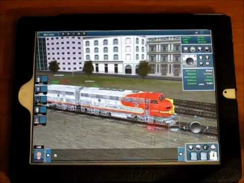 Trainz Simulator iPad App Review