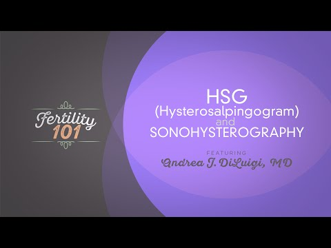 Learn More About HSG and Sonohysterography