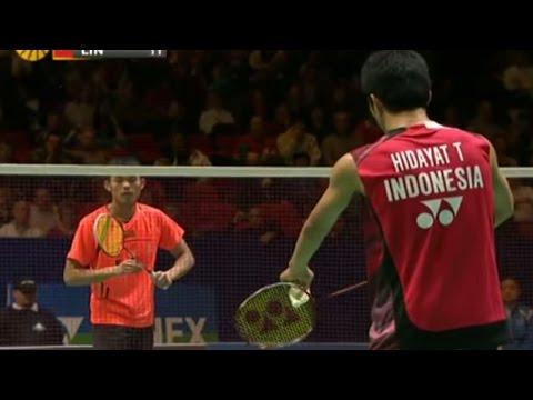 Lin Dan v T.Hidayat |MS- QF| Yonex All England Open Badminton Champ. 2012